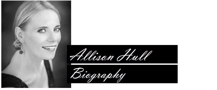 Allison Hull, opera singer