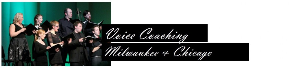 voice lessons, Chicago, Milwaukee, singing lessons